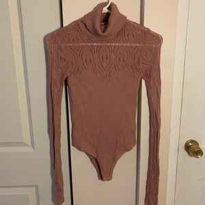 Free People Knit Bodysuit